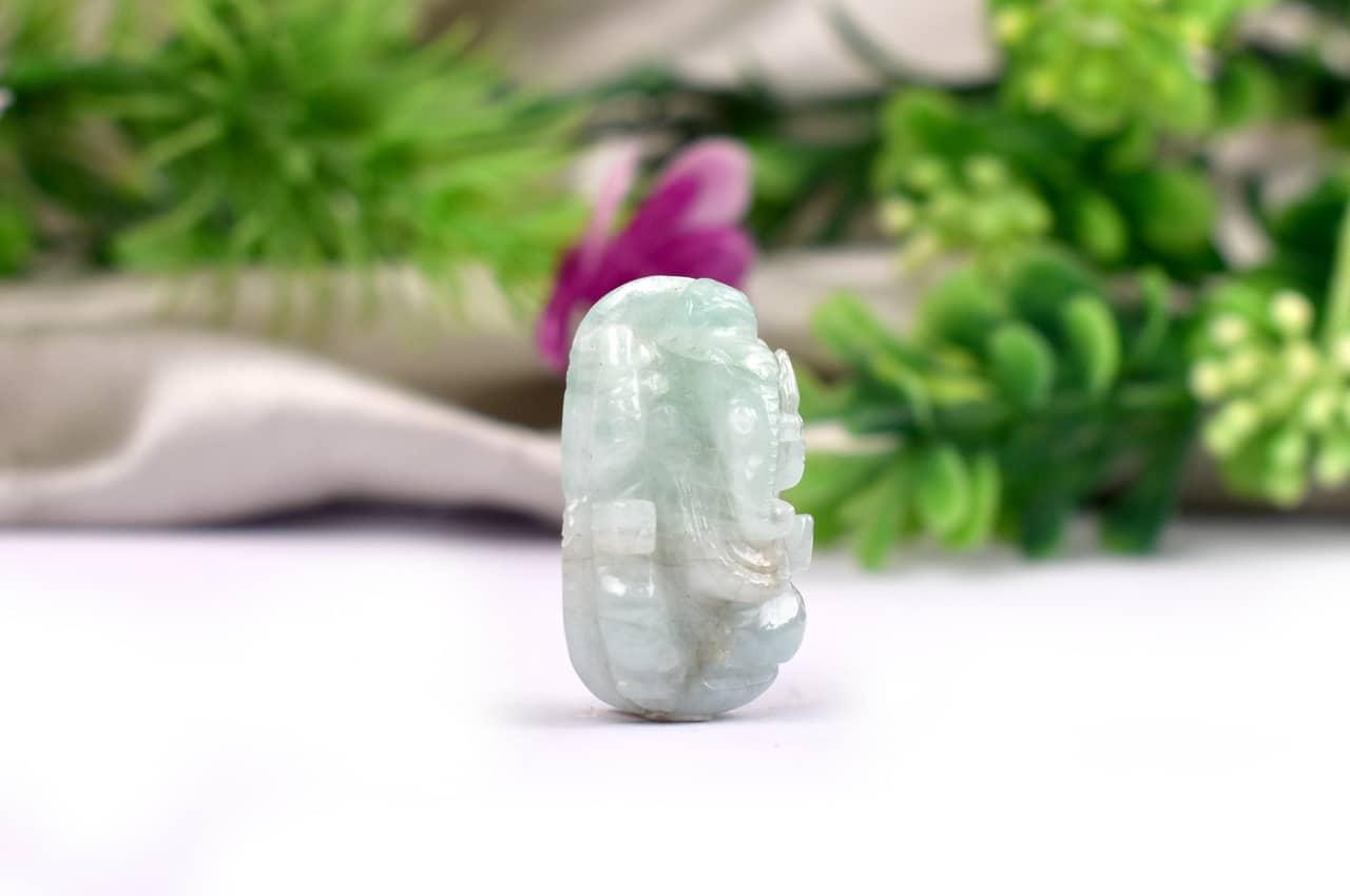 Emerald Ganesha - 19.15 Carats