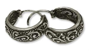 Earrings in Silver - Design XXI