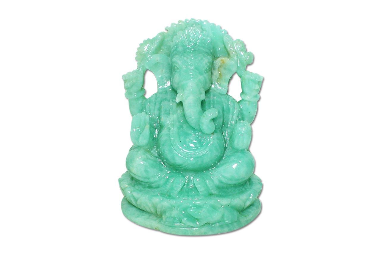 Amazonite Ganesha - 367 gms