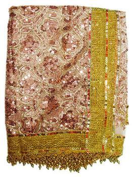 Golden Zari Chunri