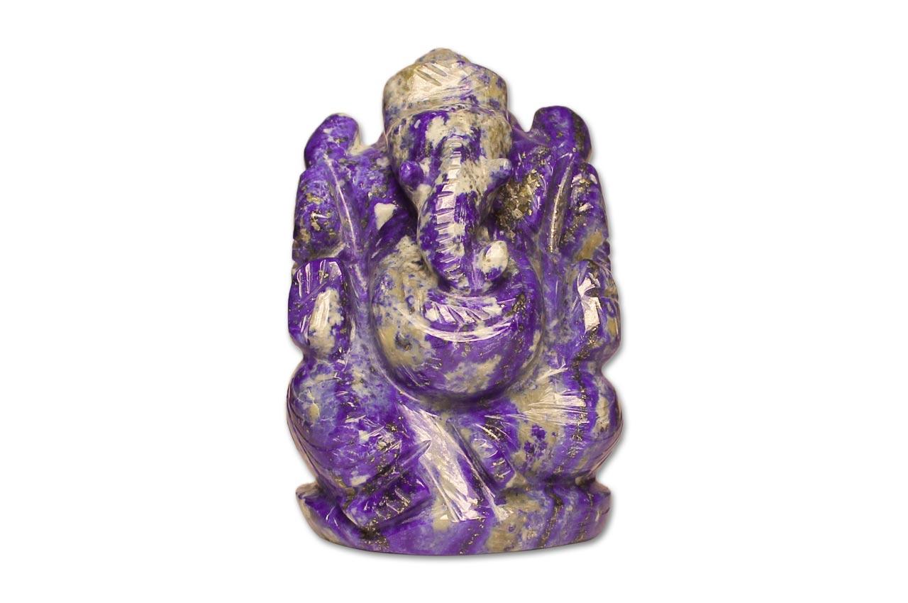 Lapis Lazuli Ganesha - 191 gms