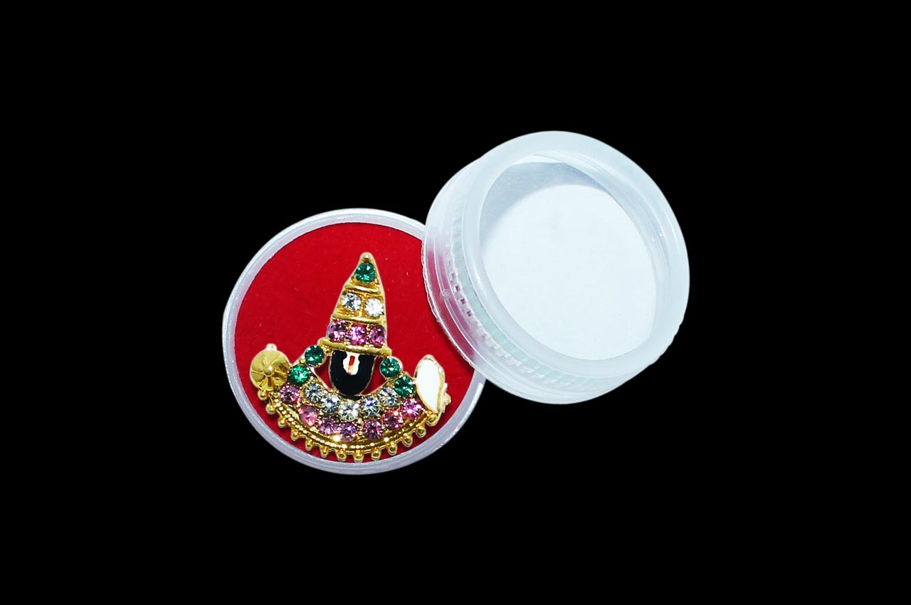 Tirupati Balaji Locket - Design III