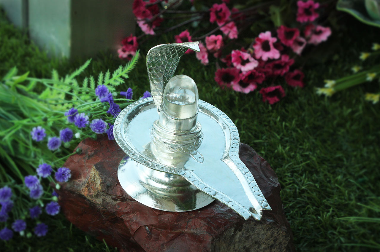 German Silver Yoni base with Lingam - Design II