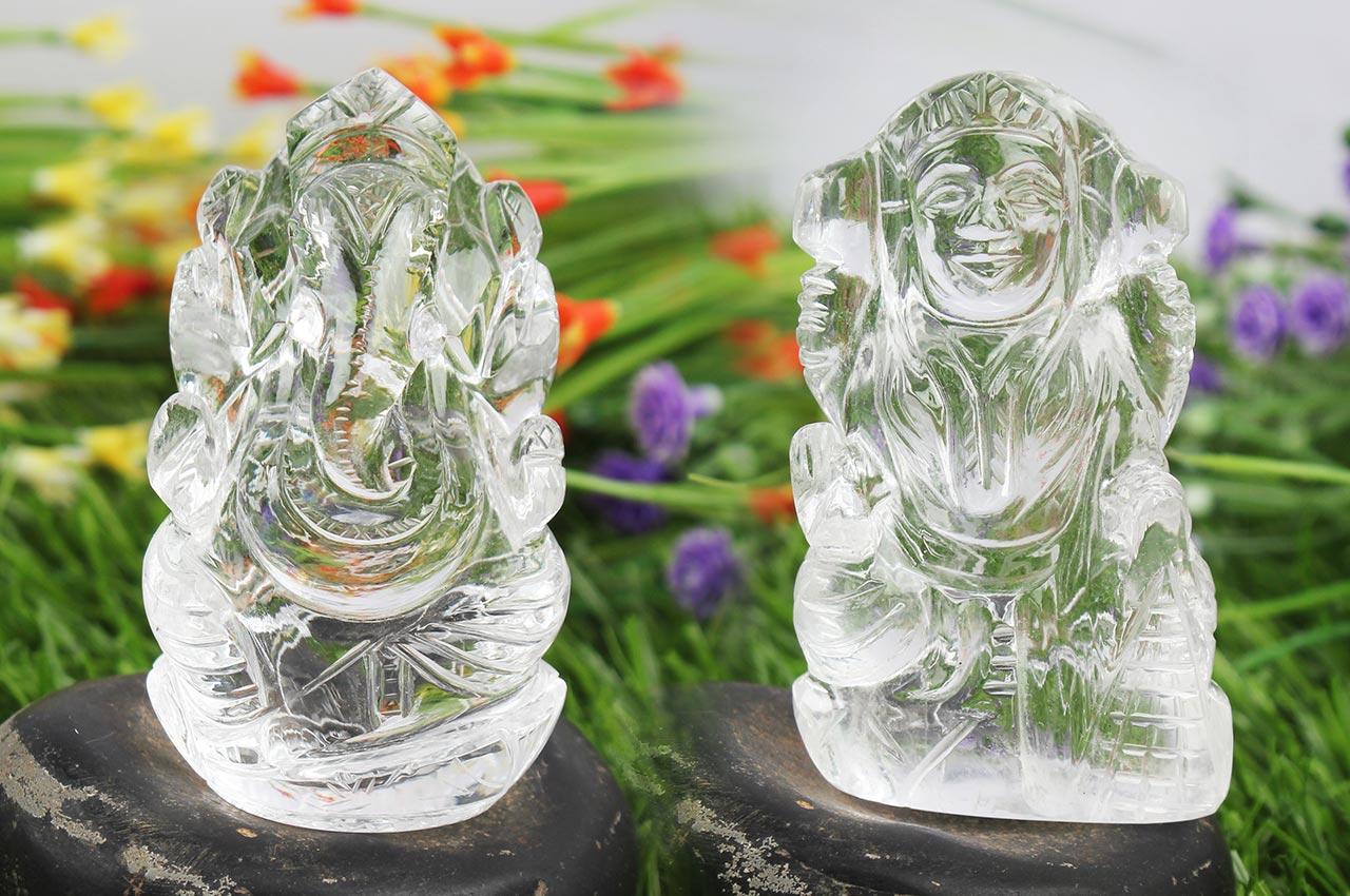 Ganesh Laxmi - Diwali pair in crystal