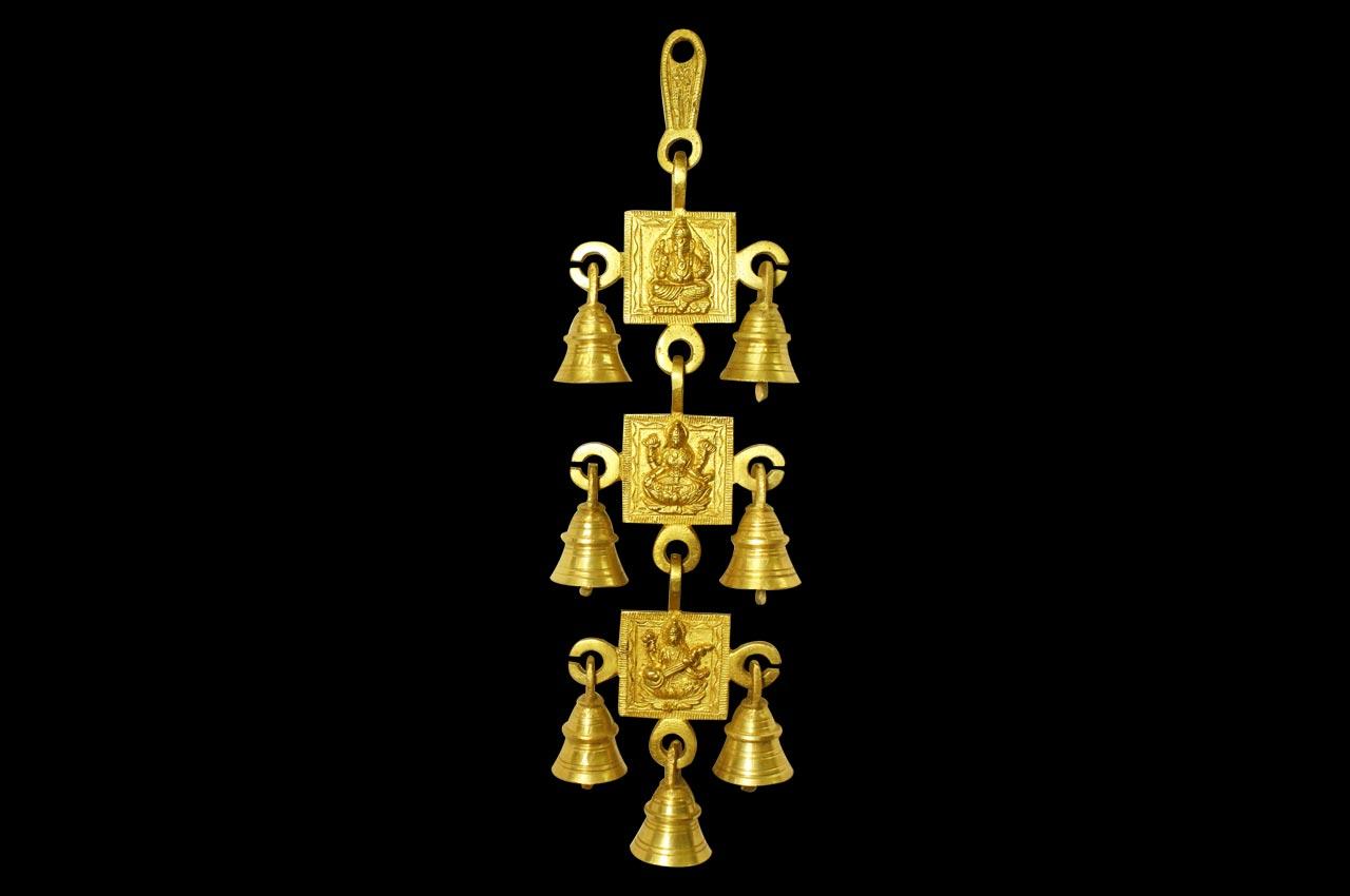 Ganesh Laxmi Saraswati bells