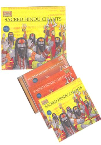Sacred Hindu Chants - Set of III Vol