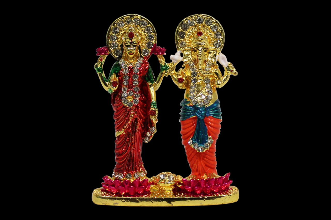 Decorative Laxmi Ganesha Idol