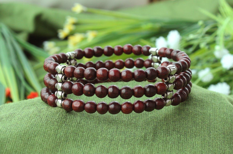 Red Sandalwood Bracelet VII