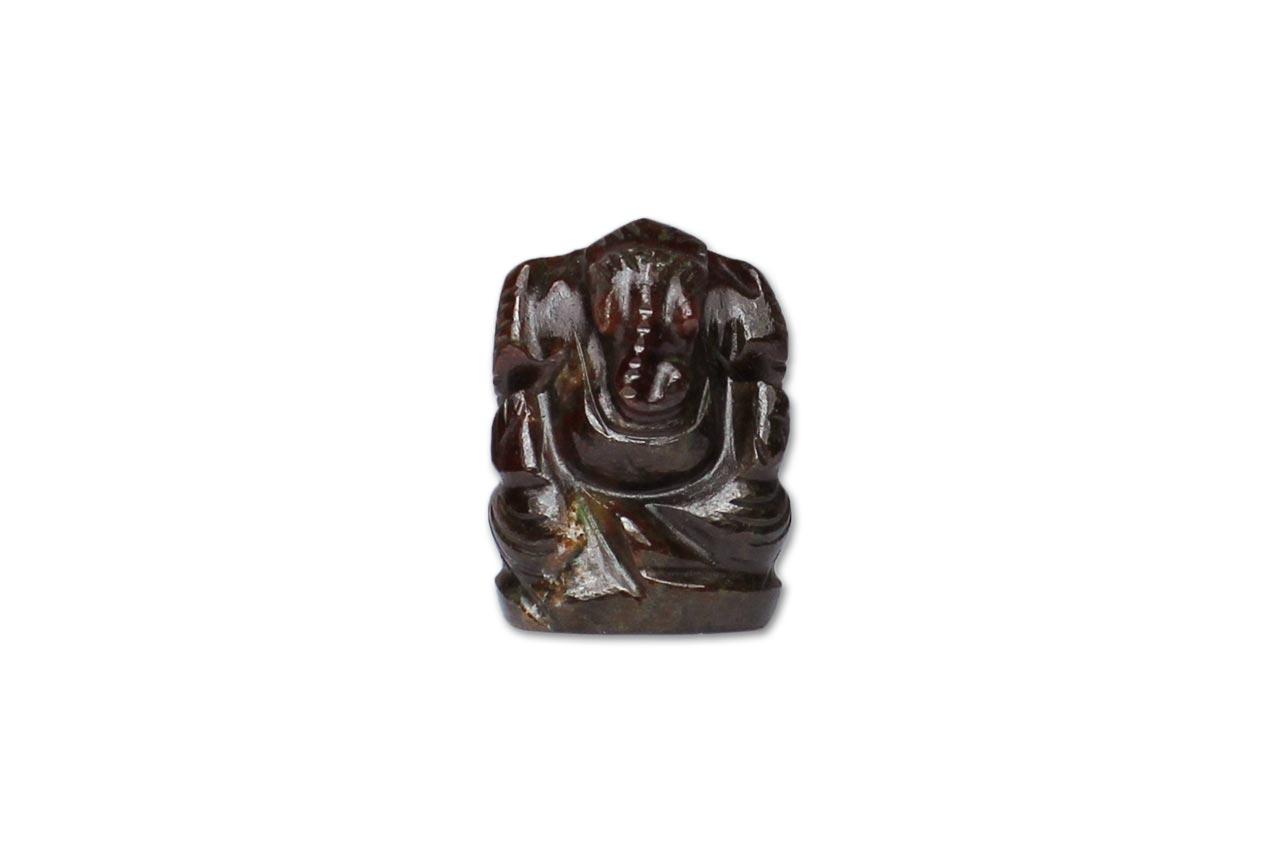Gomedh Ganesha - 60 carat