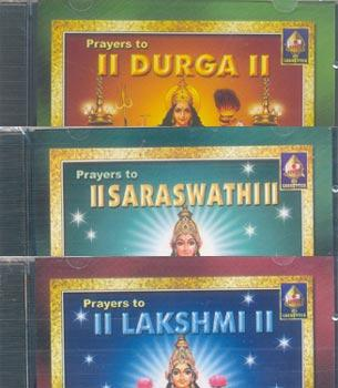 3 CD Pack - Prayers to Lakshmi Saraswati and Durga