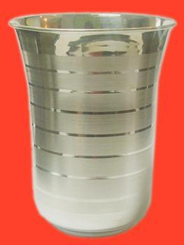 Pure Silver Glass - Design I