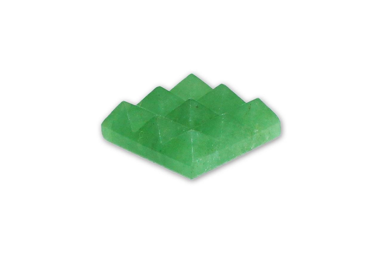 Green Jade  9-Pyramid grid
