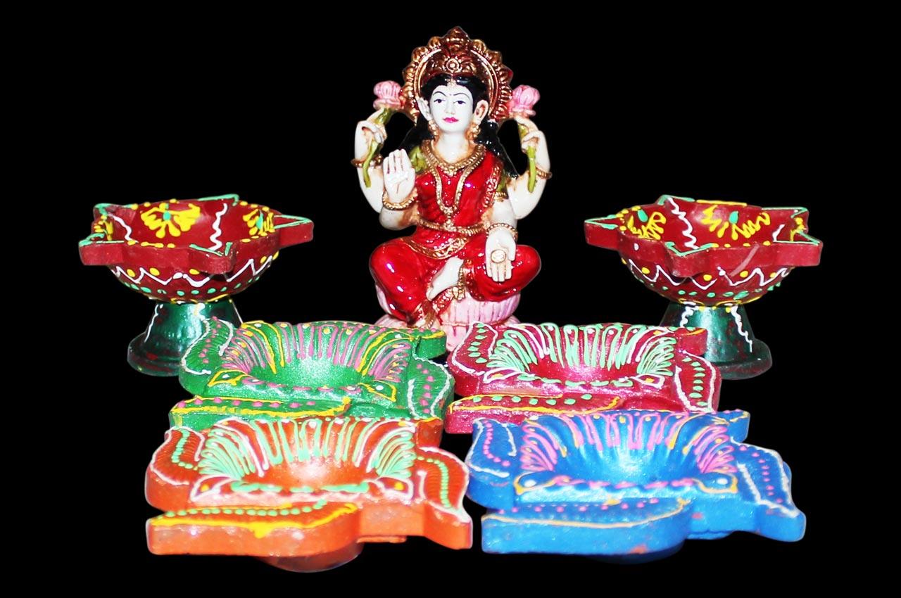 Set of 6 Diya