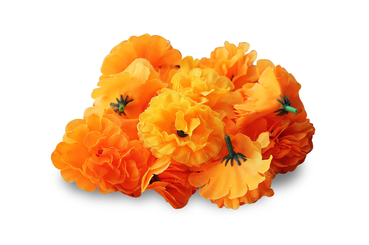 Marigold flowers - satin