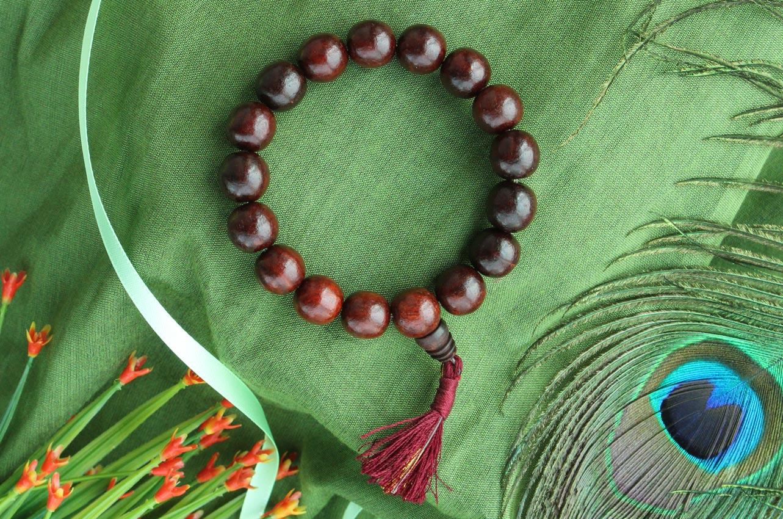 Red Sandalwood Bracelet - VIII