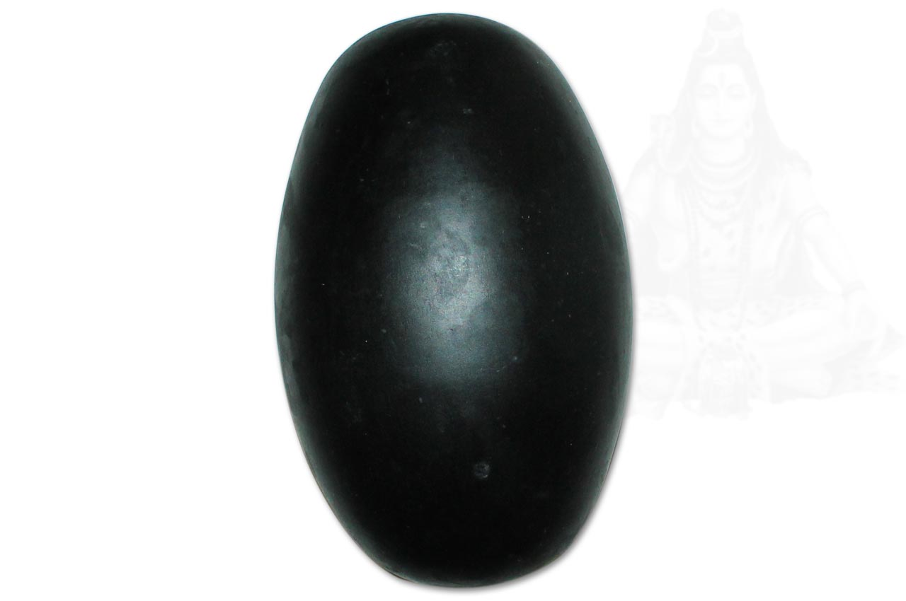 Black Narmada Shivlingam - 9 inches
