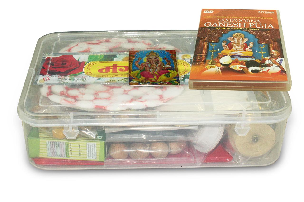 Ganesh Puja Kit, Ganesh Pooja Items List and Ganesh Puja Samagri Kit