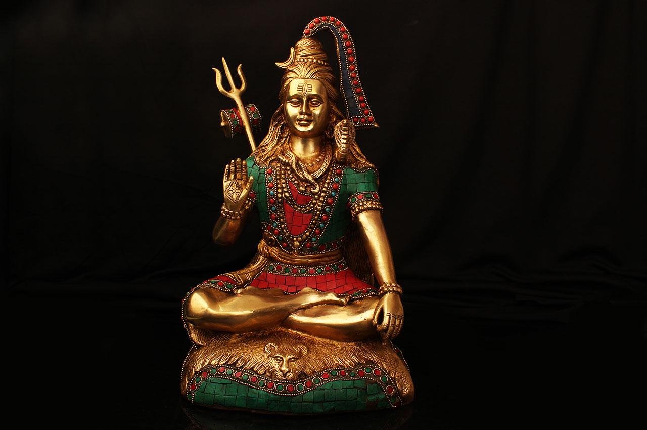 Shivji with Stonework - II