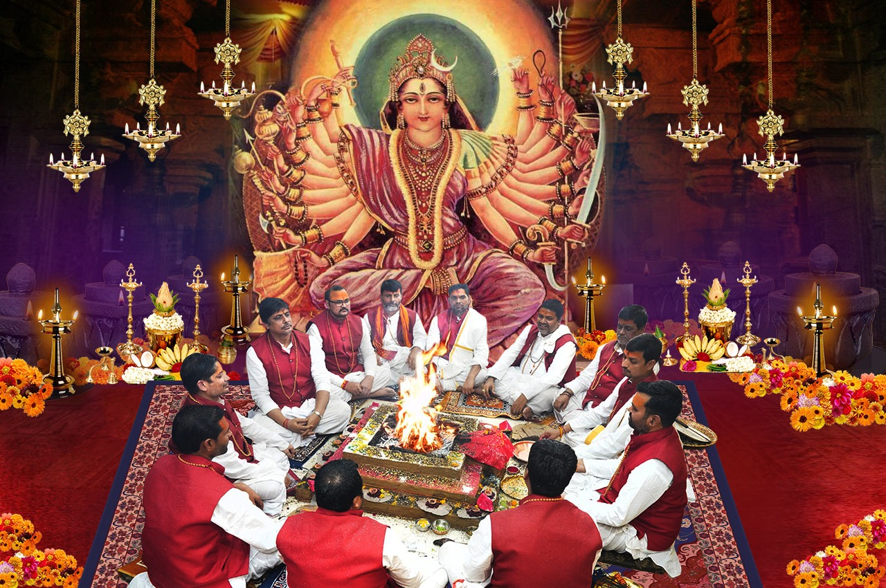 Indrakshi Puja and Yagna