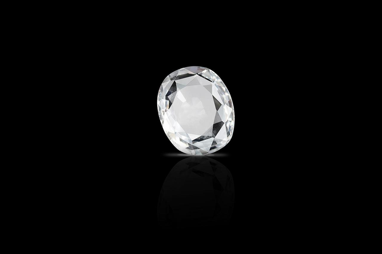 White Sapphire - 3.56 carat