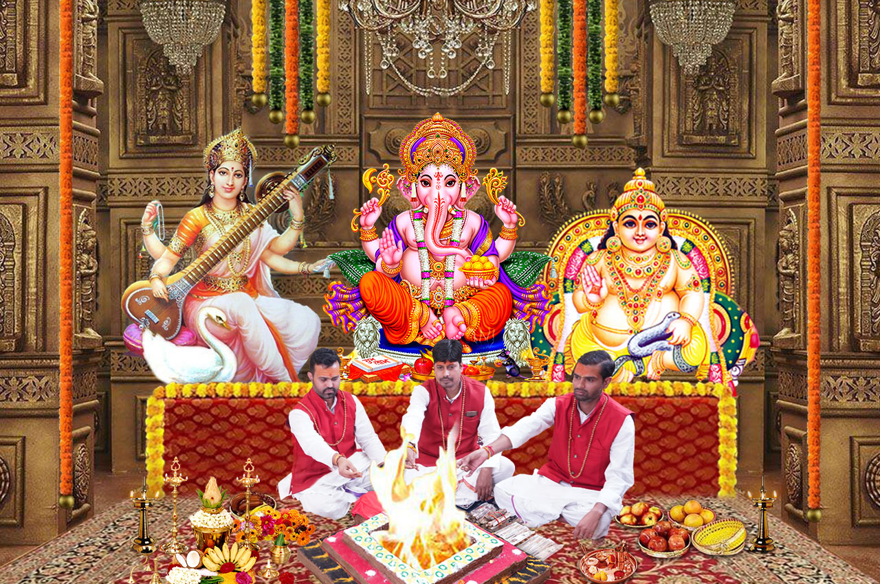 Puja for Good Luck and Fortune