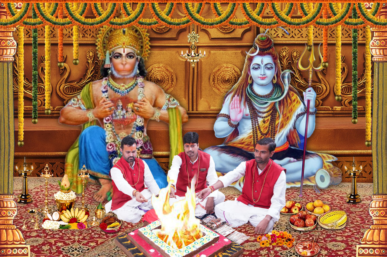 Puja for Protection against Accidents