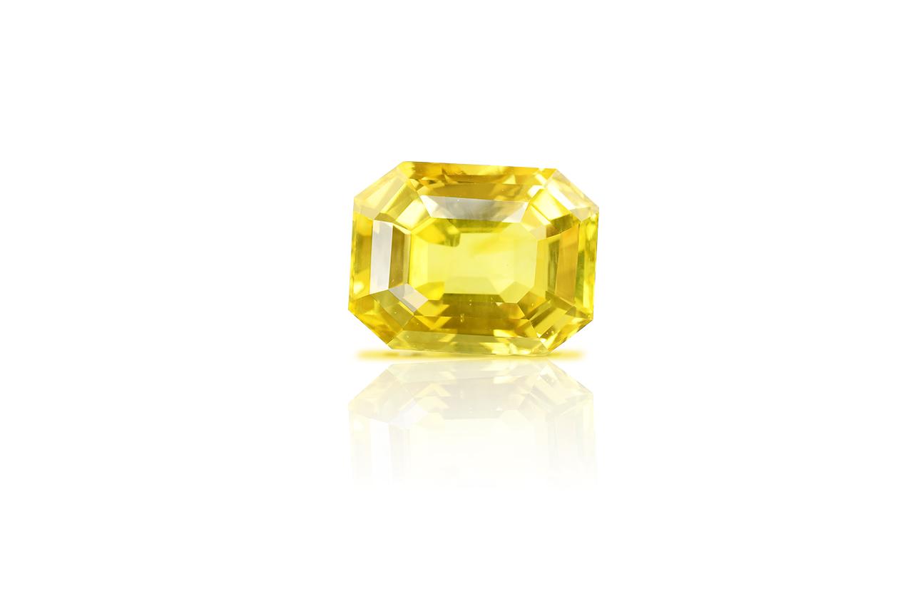 Yellow Sapphire - 12.190 carats