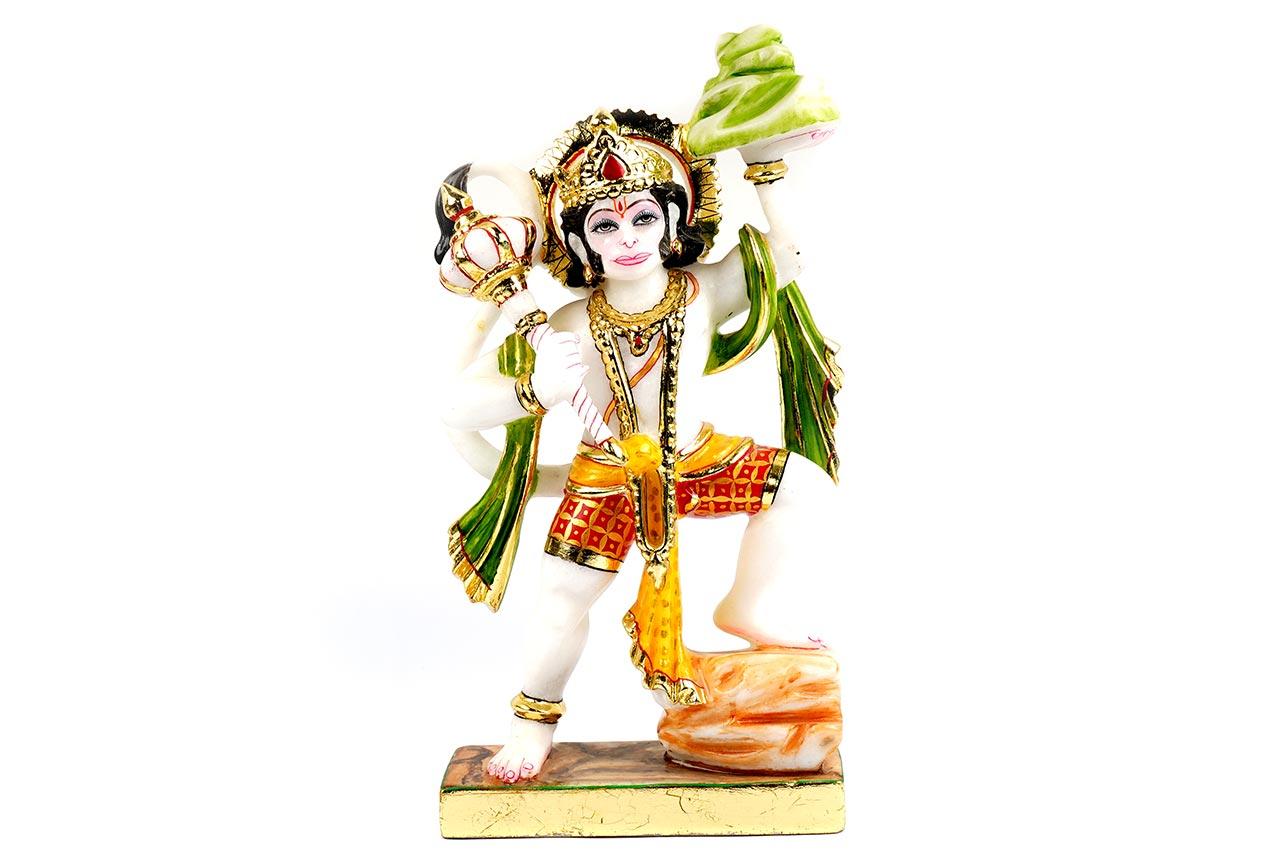 Sanjeevani Hanuman in Marble