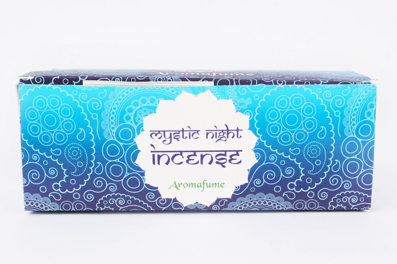 A Mystic Night Incense - Medium With Exotic Incense Diffuser