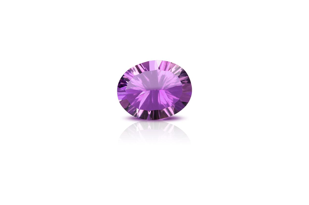 Amethyst superfine cutting - 17.40 carats