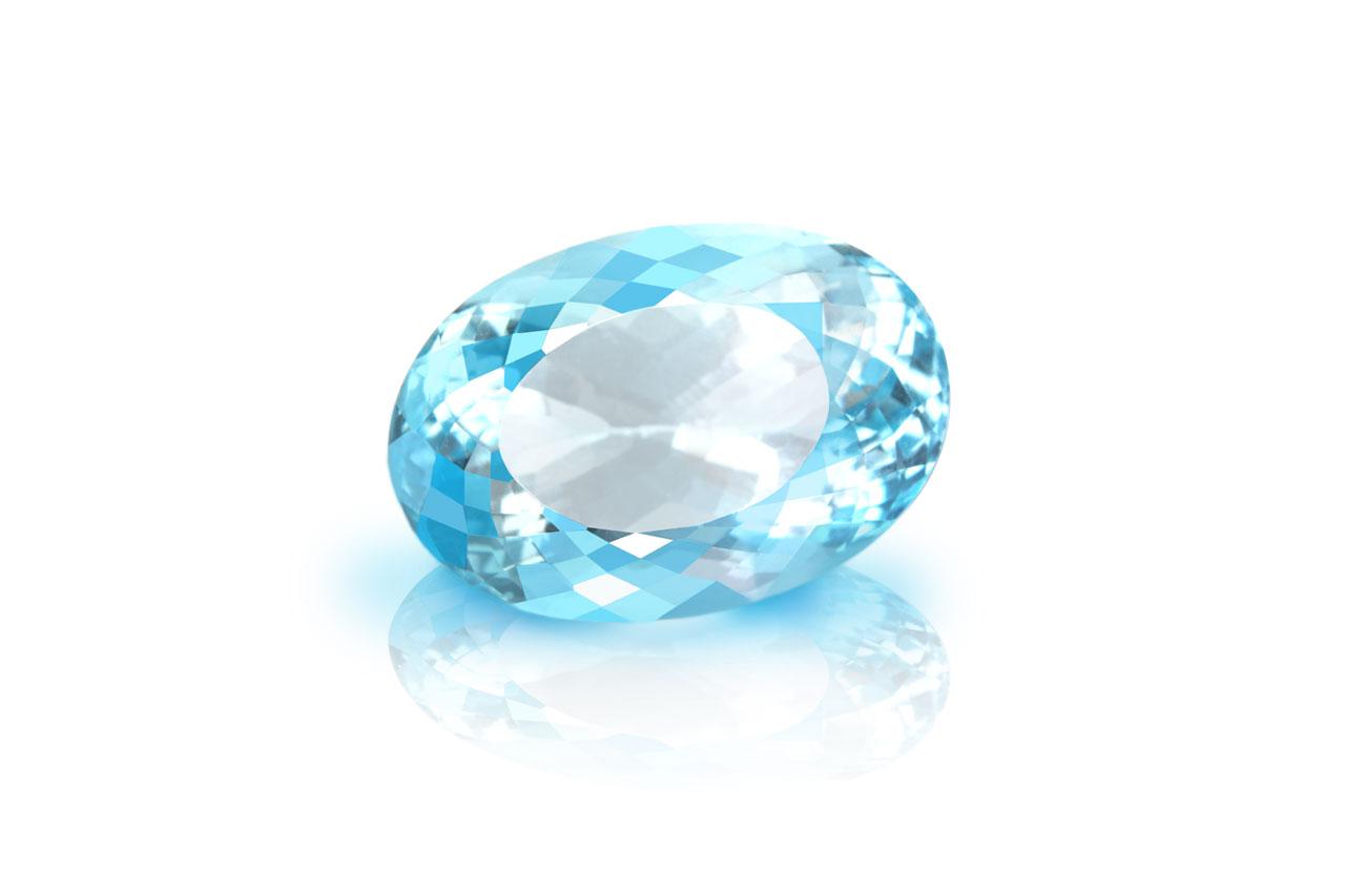 Blue Topaz - 24 carats