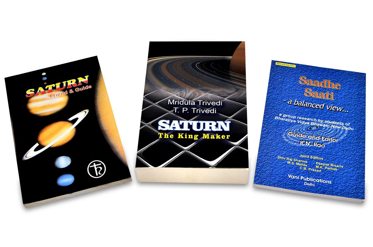 Books on Saturn Set