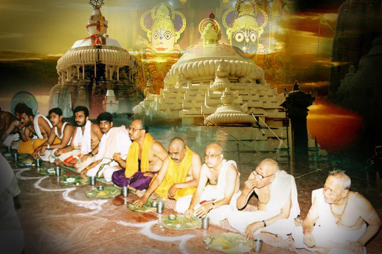Brahman Bhoj at Jagannath Temple - Puri