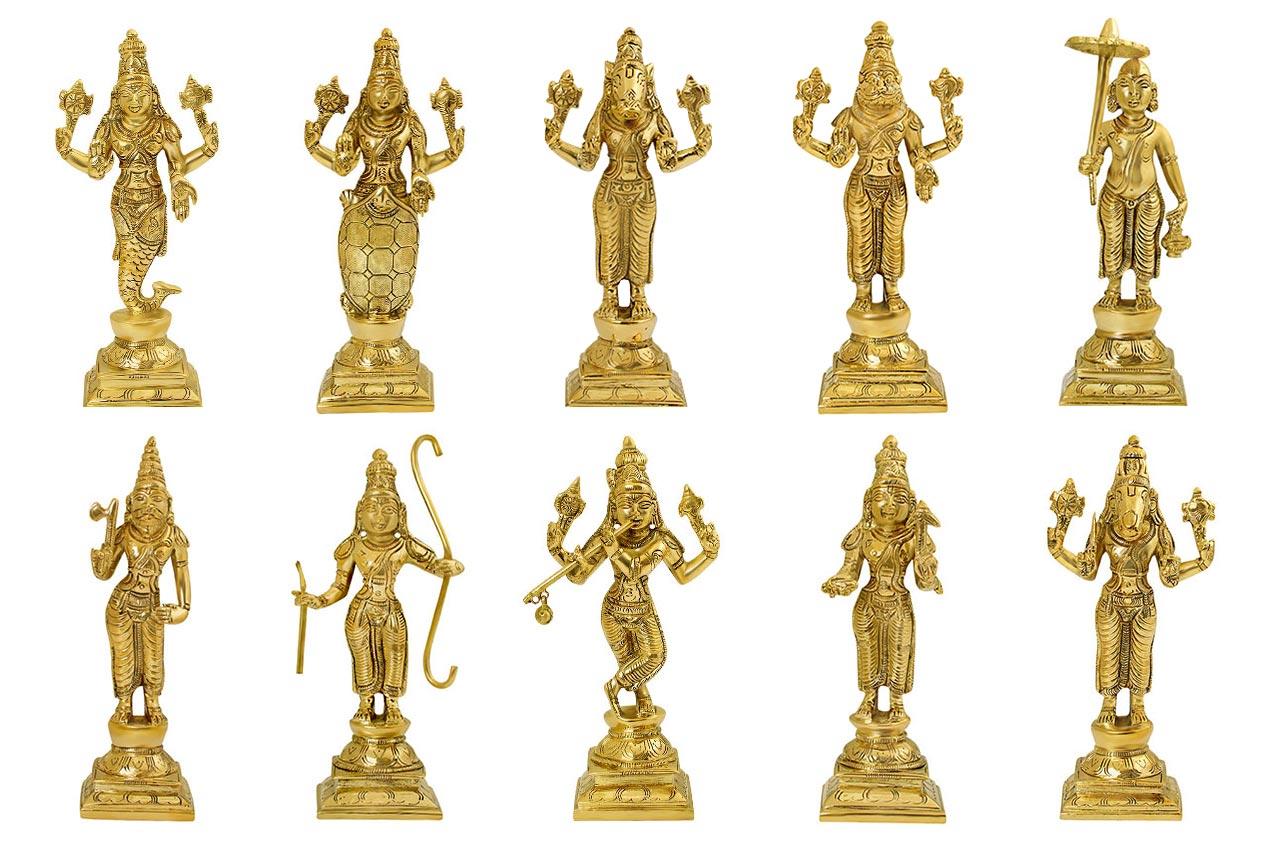 Dashavtar Idols