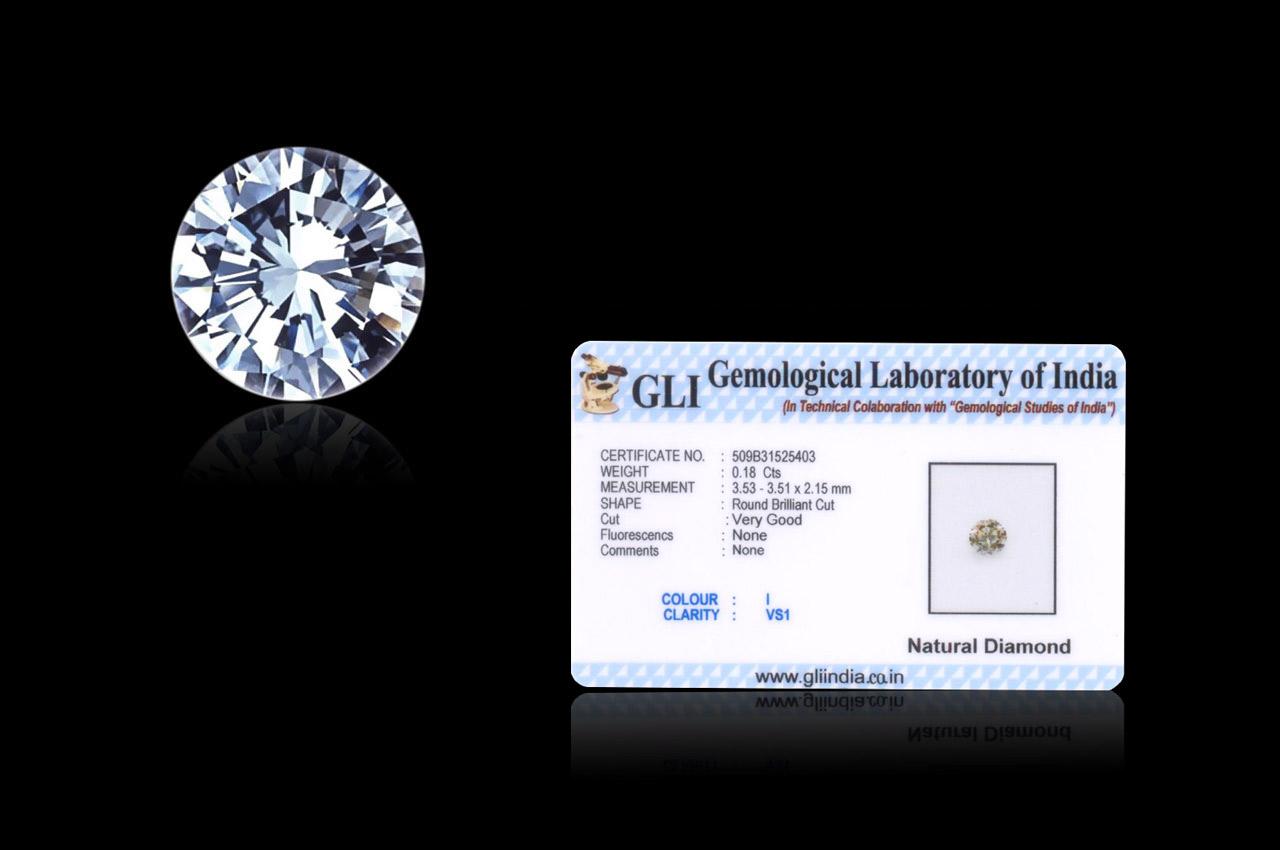 Diamond - 18 cents