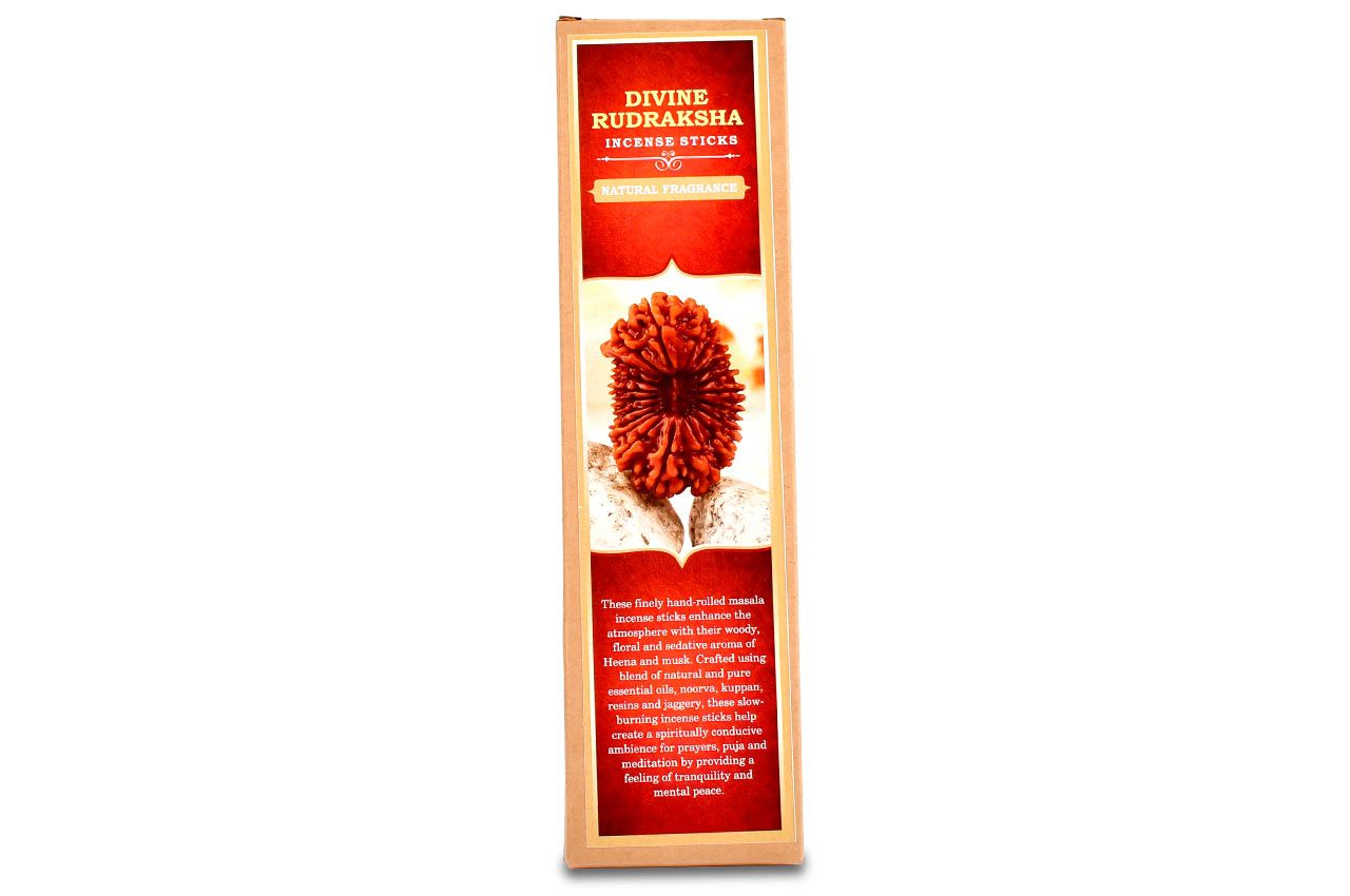 Divine Rudraksha Masala Incense Sticks