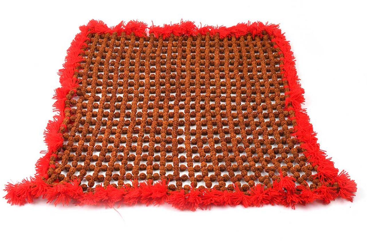 Rudraksha Mat in cotton thread