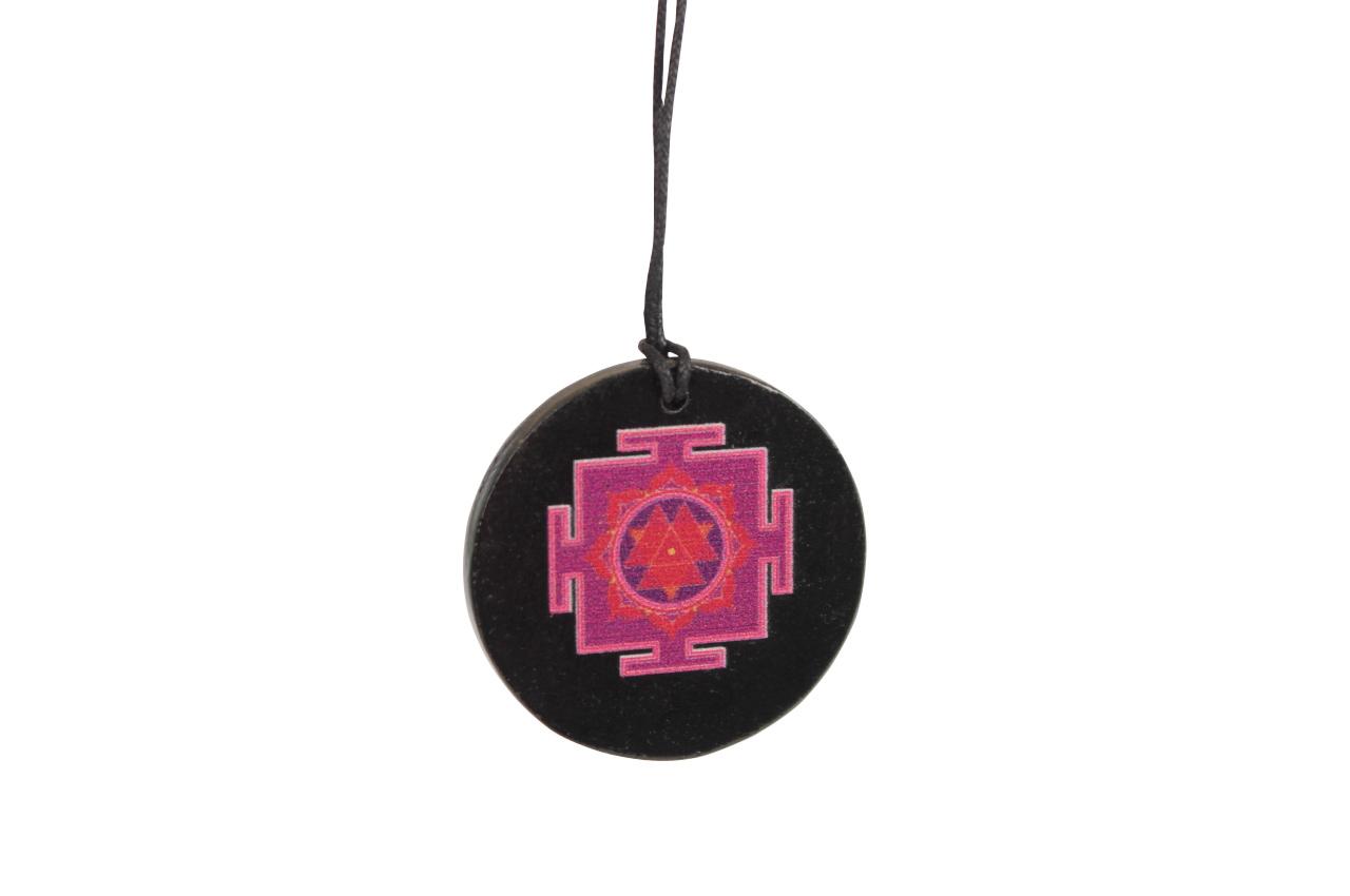 Durga Yantra locket on Rosewood