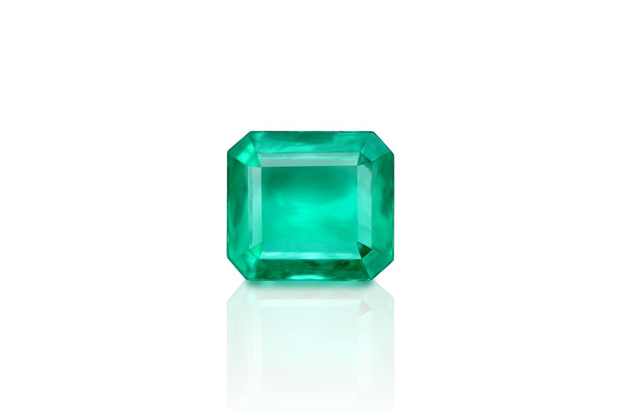 Emerald 2.38 carats Zambian - Superfine Cutting