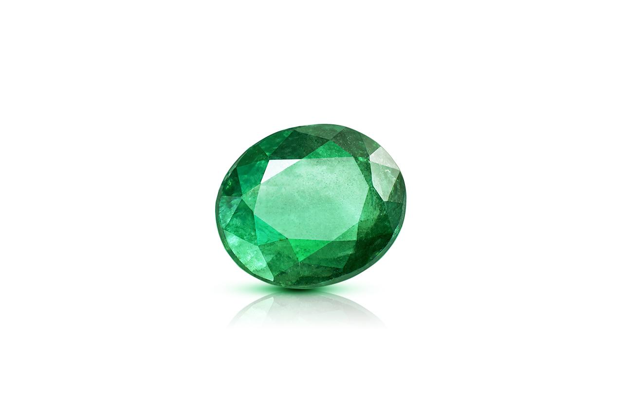 Emerald 3.23 carats Zambian - Superfine Cutting