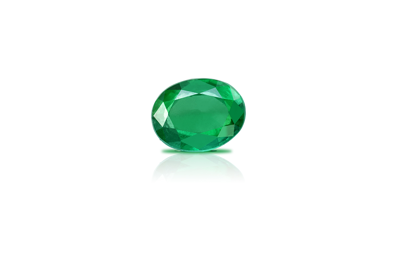 Emerald 8.69 carats Zambian
