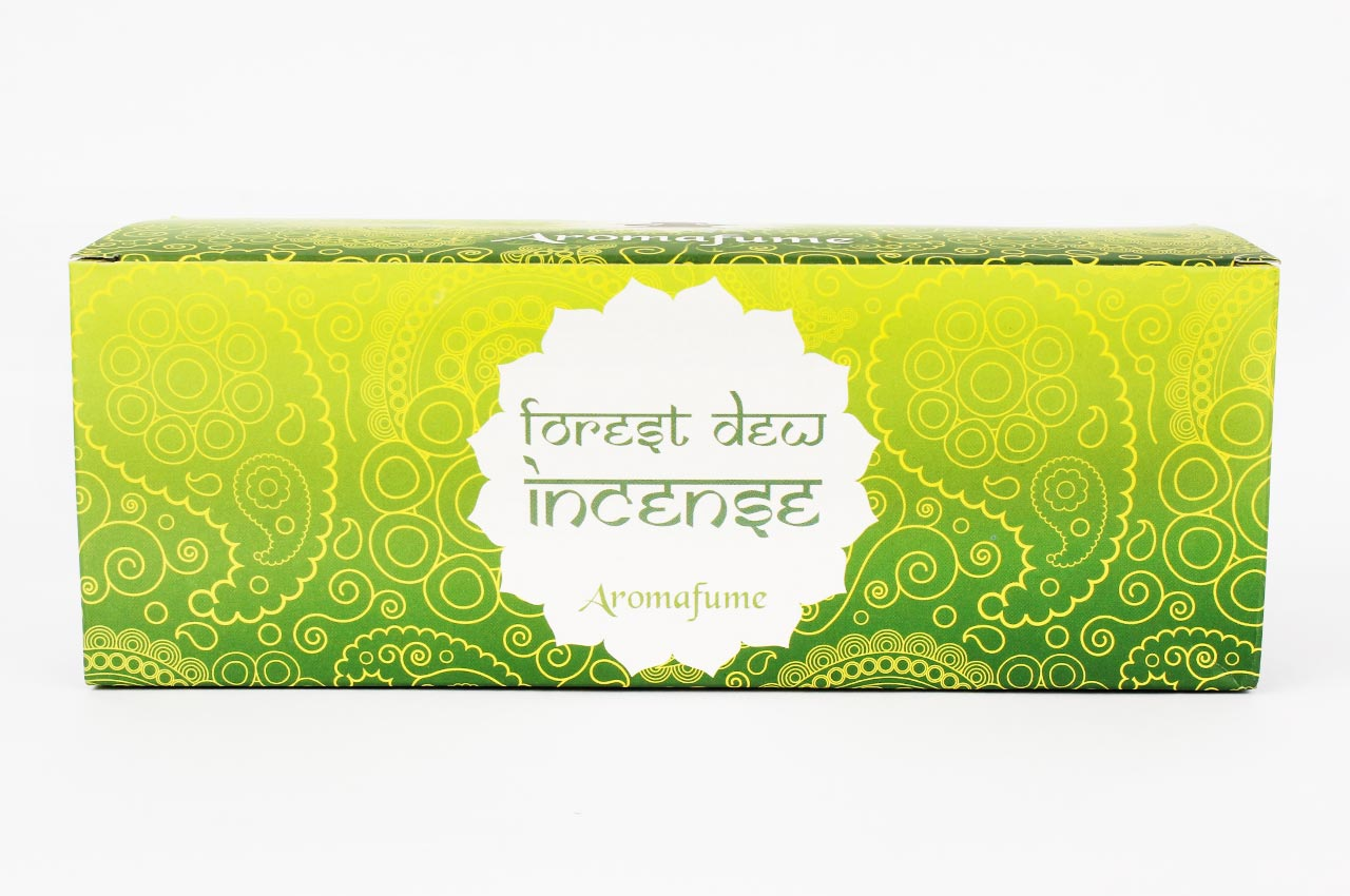 Forest Dew Incense - Medium With Exotic Incense Diffuser