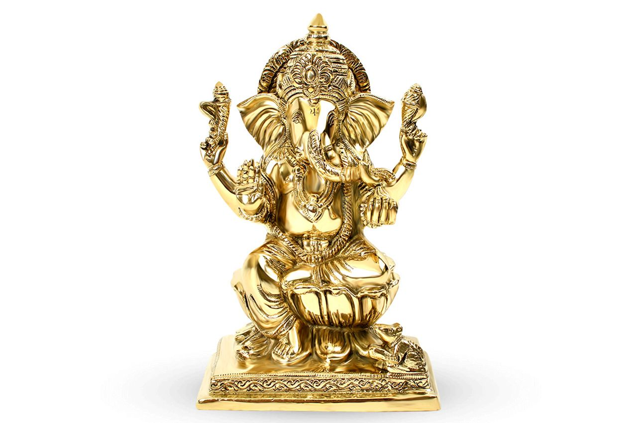 Ganesha in Brass - II