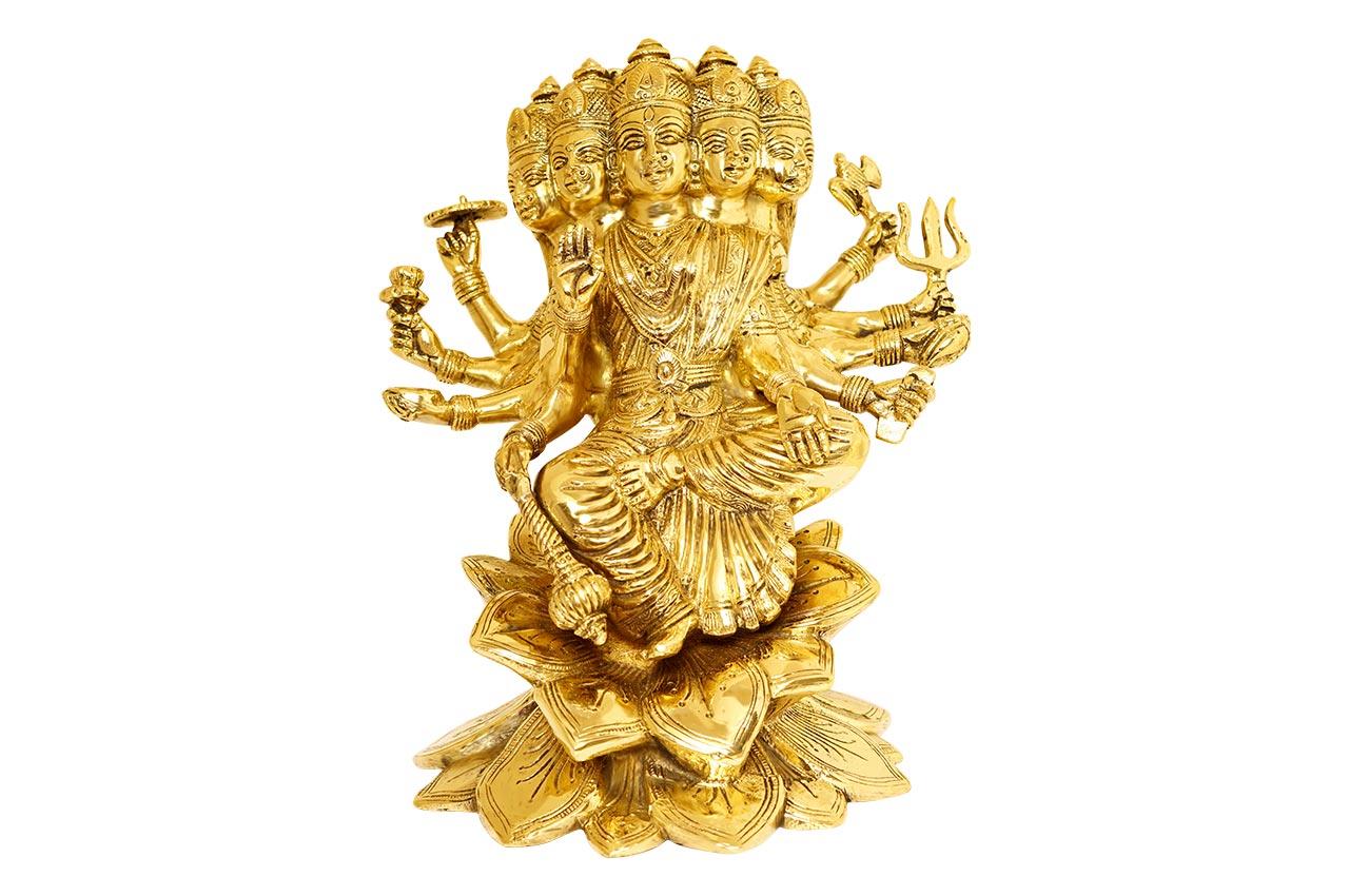 Gayatri Statue - Brass