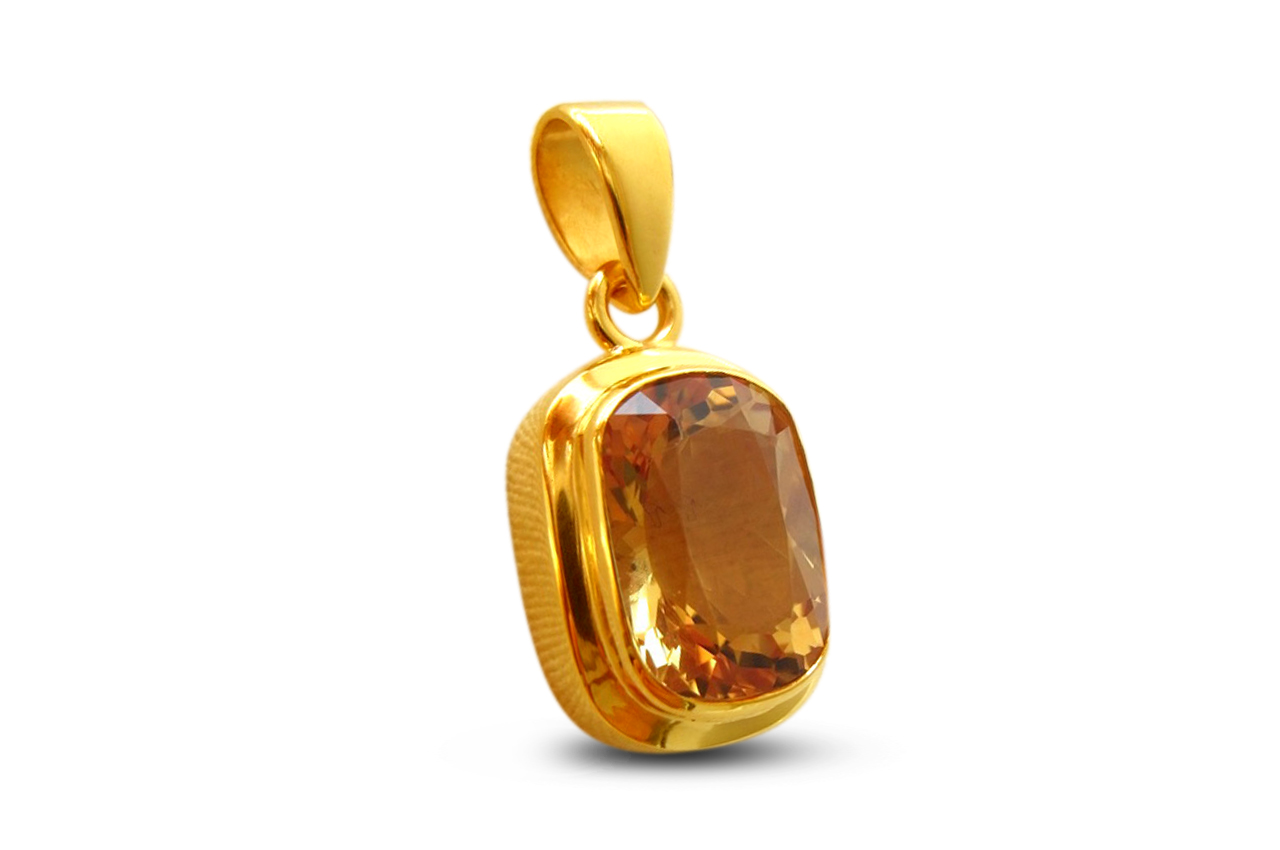 Gem Pendant Making options in Silver/Gold