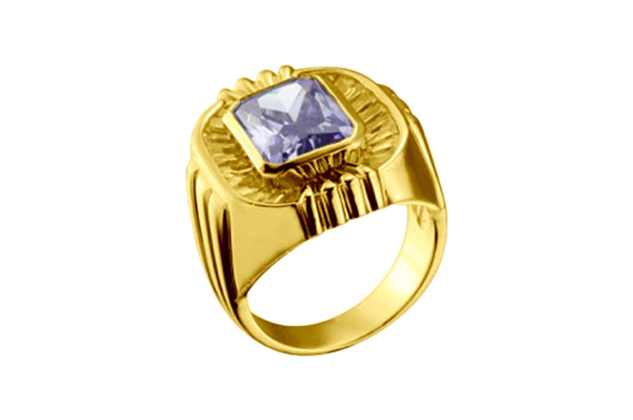 Gem Ring Making Options in Silver/Gold - Men