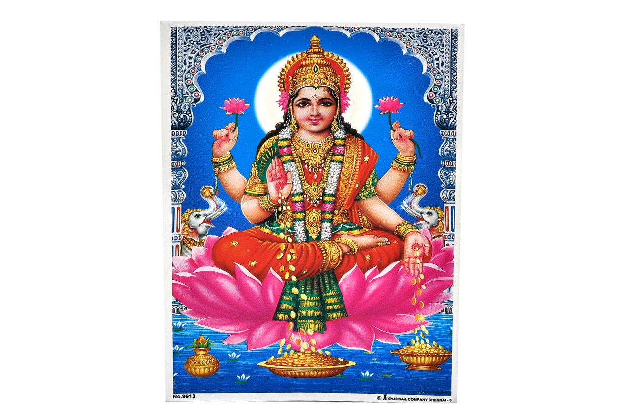 Goddess Mahalakshmi Photo - Medium