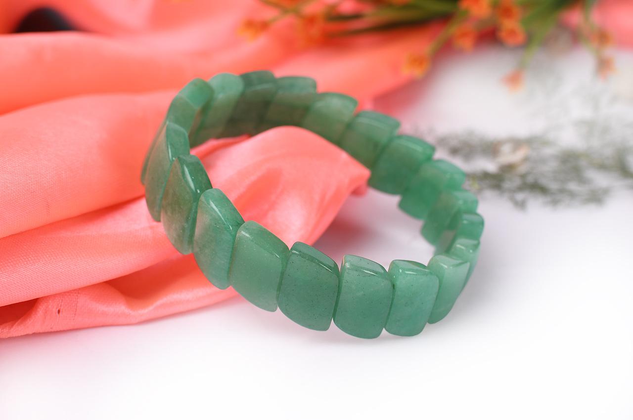 Green Jade Bracelet - Design II