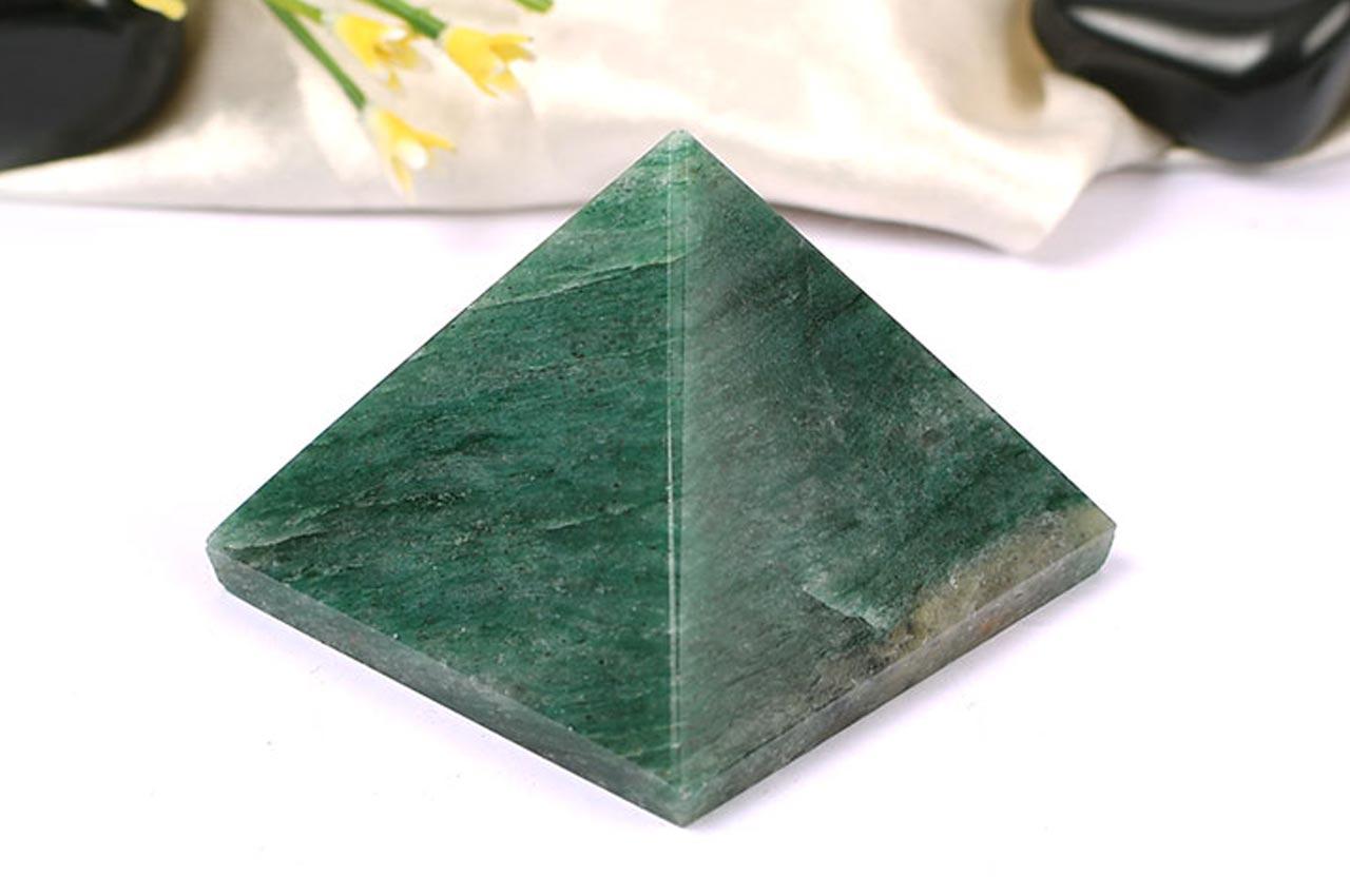 Green Jade Pyramid - II
