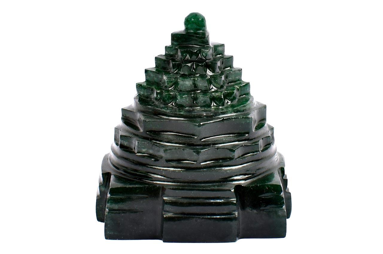 Green Jade Shree Yantra - 131 to 140 gms